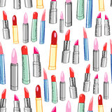 Texture of the lipstick Royalty Free Stock Images