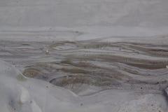 Texture liquide 02 de boue Photographie stock