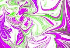 Texture liquide color?e d'abr?g? sur peinture, technique d'art photographie stock libre de droits