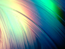 Texture liquide de lueur de bavure Photos libres de droits