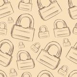 Texture with locks Stock Image