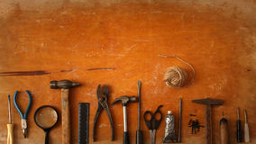 Texture locksmith tools Stock Photo