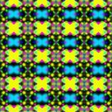 Texture lumineuse de kaléidoscope abstrait pour des meubles de jeu Photographie stock