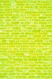 Texture lumineuse, mur de briques Images libres de droits