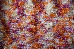 Texture lumineuse Tissu tricoté fil de fantaisie Fil de Buculent Photo stock