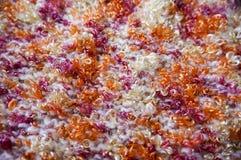 Texture lumineuse Tissu tricoté fil de fantaisie Fil de Buculent Images libres de droits