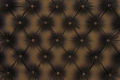 Texture luxueuse de cuir de brun-ton Photos stock