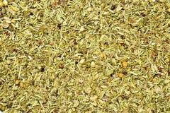 Texture mélangée d'herbes Photographie stock