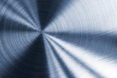 Texture métallique bleue froide Photographie stock libre de droits
