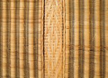 Texture made of closeup of detailed wicker Stock Photo