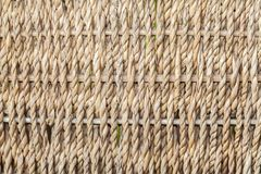 Closeup of detailed wicker. Texture made of closeup of detailed wicker Stock Photos