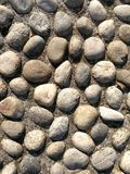 Texture made of rocks Stock Images