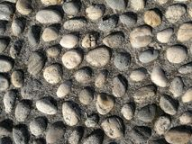 Texture made of rocks Stock Photography
