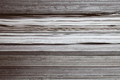 Texture of magazine pages Stock Photos