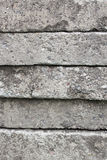 Texture of many concrete slabs Stock Photography