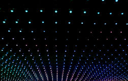 Texture of many multicolored led lights. Abstract background of many multicolored led lights stock images