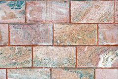 Texture of the pink marble tile, background royalty free stock photography