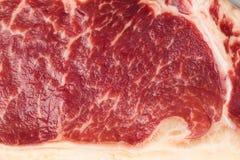 Texture marbrée de viande Images libres de droits