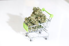 Texture Marijuana Cannabismarijuana And Cannabis. Legal Drug Royalty Free Stock Photo
