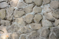 Texture of the masonry stone wall, seamless pattern Stock Image