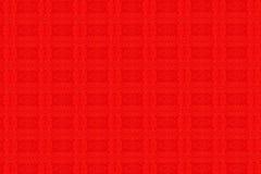 Texture matérielle rouge Images libres de droits
