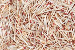 Texture from matches Royalty Free Stock Photo