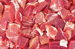 The texture of the meat Stock Photos