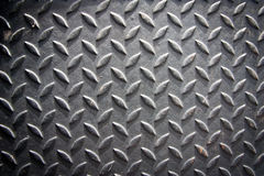 Texture of metal. Black Metal use for background Stock Image