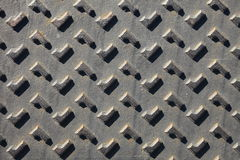 Texture of metal. Black stell background Stock Photography