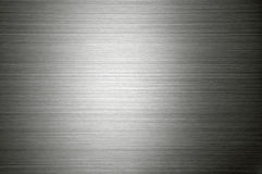 Texture of metal. Silver texture metal with horizontal stripes Stock Images