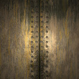 Texture of metal. ( old background Royalty Free Stock Image