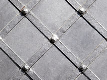 Texture of metal black stell Stock Image