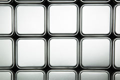 Texture of metal box Royalty Free Stock Photography