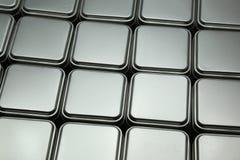 Texture of metal box Royalty Free Stock Photos
