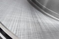 The texture of the metal. Brake disc Stock Photos