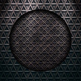 Texture of a metal diamond plate Royalty Free Stock Photography