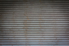 Texture of metal door Royalty Free Stock Images
