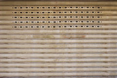 Texture metal gate Royalty Free Stock Photo