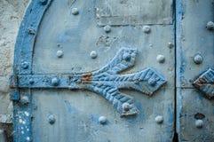 Texture of metal gates Stock Photo
