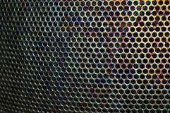 The texture of the metal grid 6 Royalty Free Stock Photo