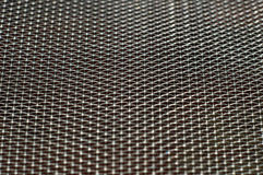 The texture of the metal grid Royalty Free Stock Images
