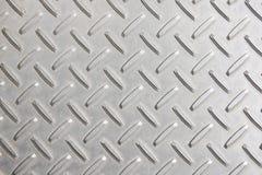 Texture of metal plate Stock Photos
