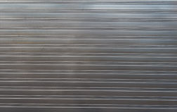 Texture of metal profiled sheet fence decking Stock Image