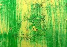 Texture of a metal rusty painted plate Royalty Free Stock Image