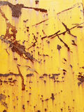 Texture of metal surface with cracked paint Royalty Free Stock Photography