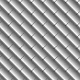 Texture metal tiles or scales. Gray color. Royalty Free Stock Photography