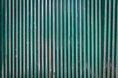 Texture of metal wall. Background Detail of texture metal Corrugated Iron Panelling Royalty Free Stock Photo