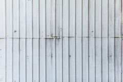 Texture of the metal wall with junction of panels Royalty Free Stock Image