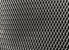 Texture of metallic screen. Silver, gray, metallic, patterns, recurring, repetition, industrial, home protection, screen, texture background Royalty Free Stock Photos