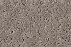 Texture of meteorite craters on the moon with impacts stock illustration